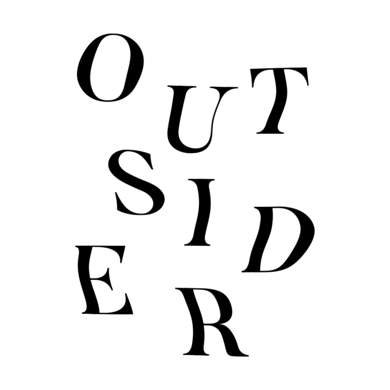 OUTSIDER - black by GL0W Store
