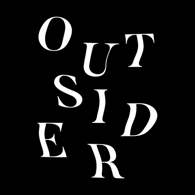 OUTSIDER - white by GL0W Store