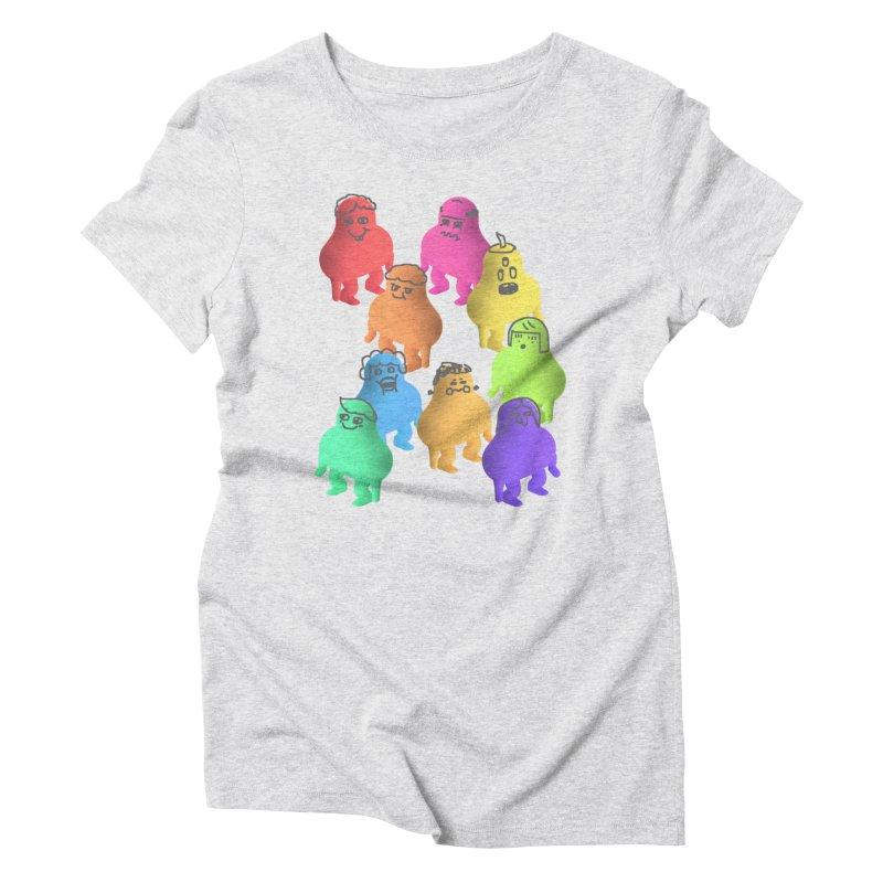 Some Crowd Women's Triblend T-shirt by Glander by Glander