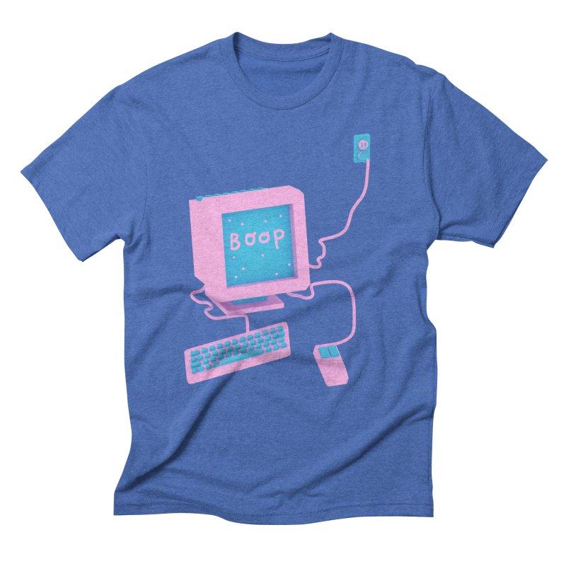 Computers Men's Triblend T-shirt by Glander by Glander