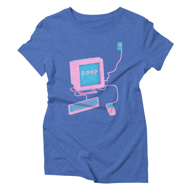 Computers Women's Triblend T-shirt by Glander by Glander