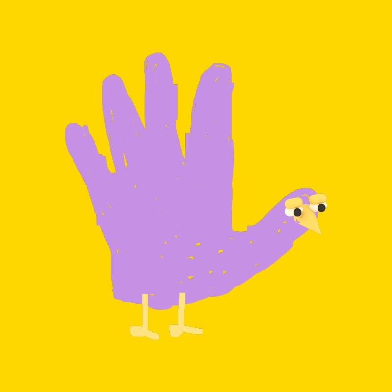 Hand Turkey None  by Glander by Glander