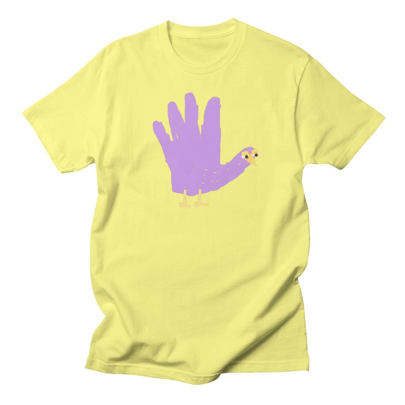Hand Turkey Men's T-shirt by Glander by Glander