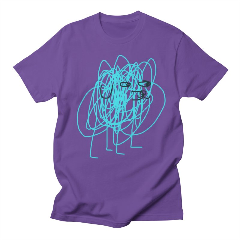 scribbledog Men's T-shirt by Glander by Glander