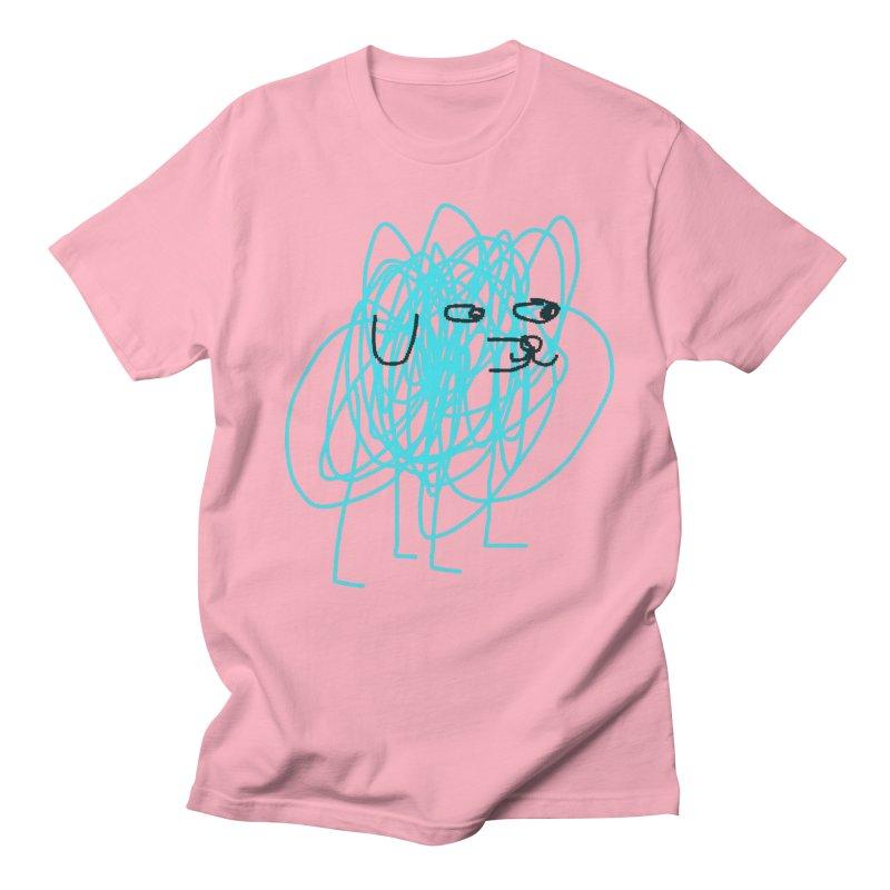 scribbledog Men's T-shirt by Glander by Glander