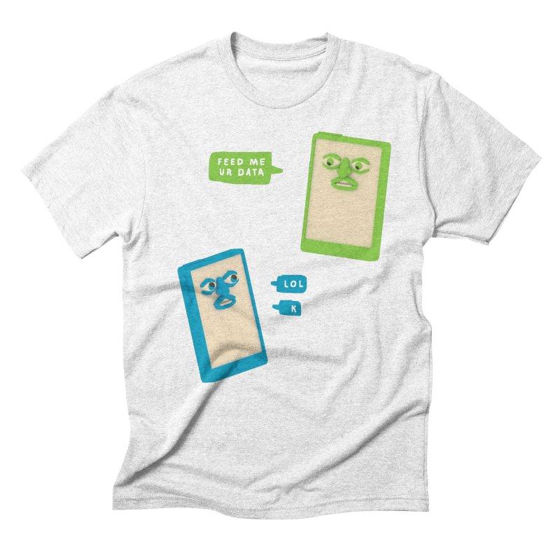 Chattin' Men's Triblend T-shirt by Glander by Glander