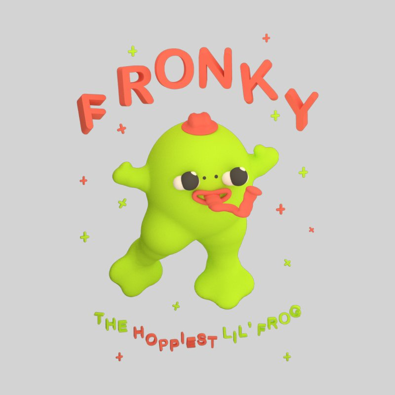 Fronky *premium* T-shirt None  by Glander by Glander