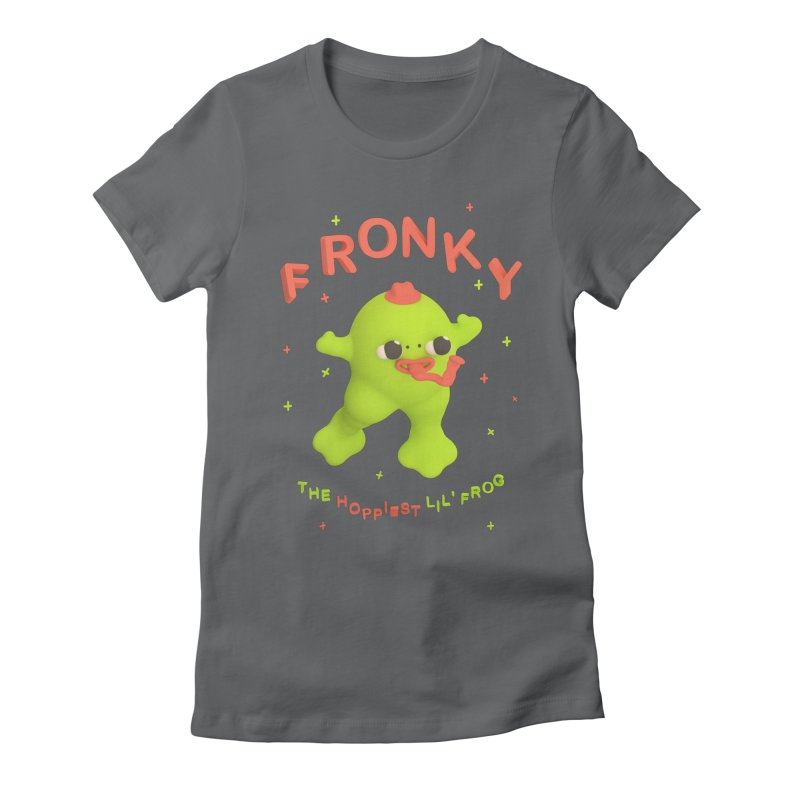 Fronky *premium* T-shirt Women's Fitted T-Shirt by Glander by Glander