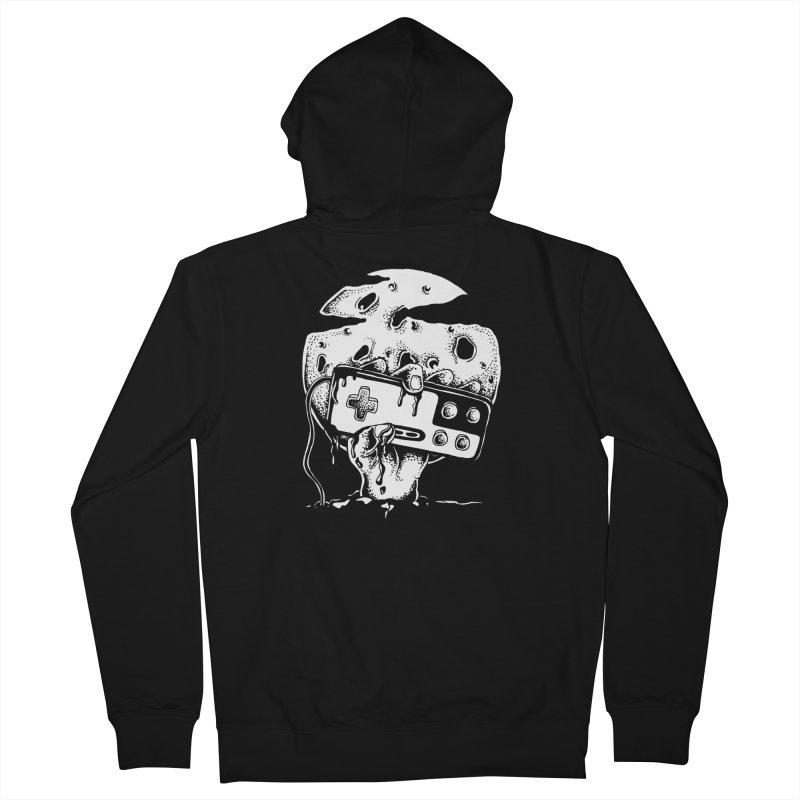Gamer Til Death Men's Zip-Up Hoody by Glenkeso Designs