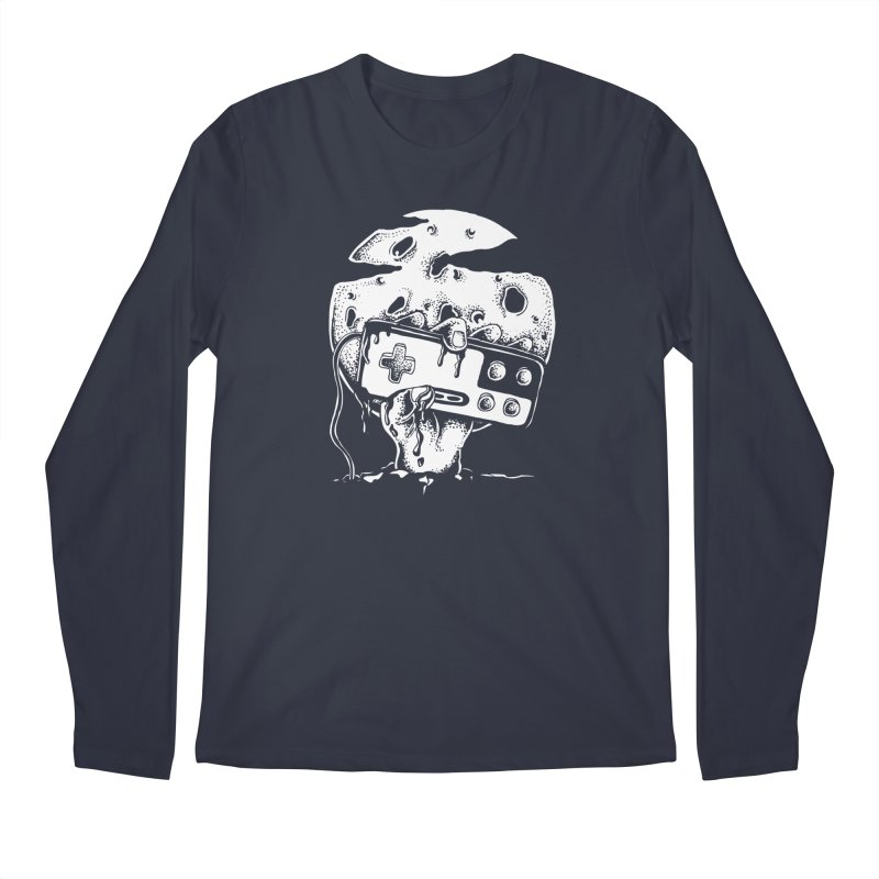 Gamer Til Death Men's Longsleeve T-Shirt by Glenkeso Designs