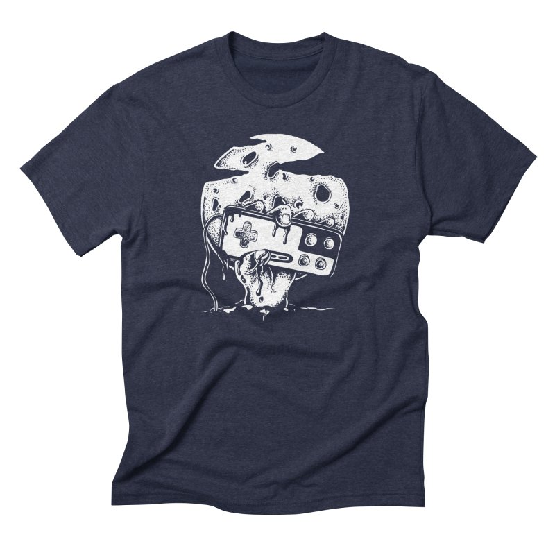 Gamer Til Death Men's Triblend T-Shirt by Glenkeso Designs