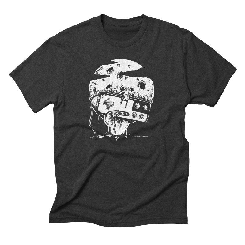 Gamer Til Death Men's Triblend T-Shirt by Glenkeso Designs