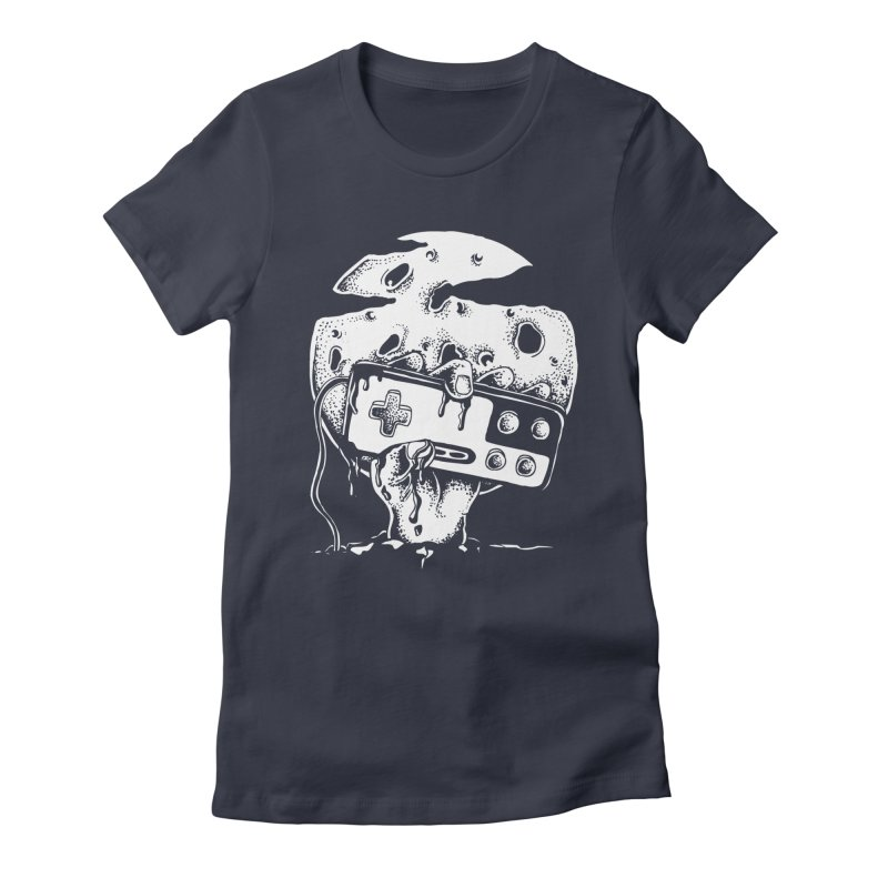Gamer Til Death Women's Fitted T-Shirt by Glenkeso Designs