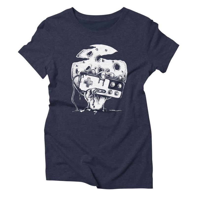 Gamer Til Death Women's Triblend T-Shirt by Glenkeso Designs