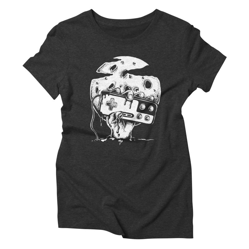 Gamer Til Death Women's Triblend T-shirt by Glenkeso Designs