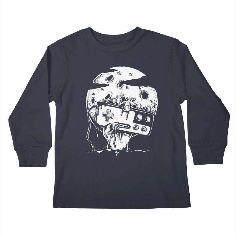 Gamer Til Death Kids Longsleeve T-Shirt by Glenkeso Designs
