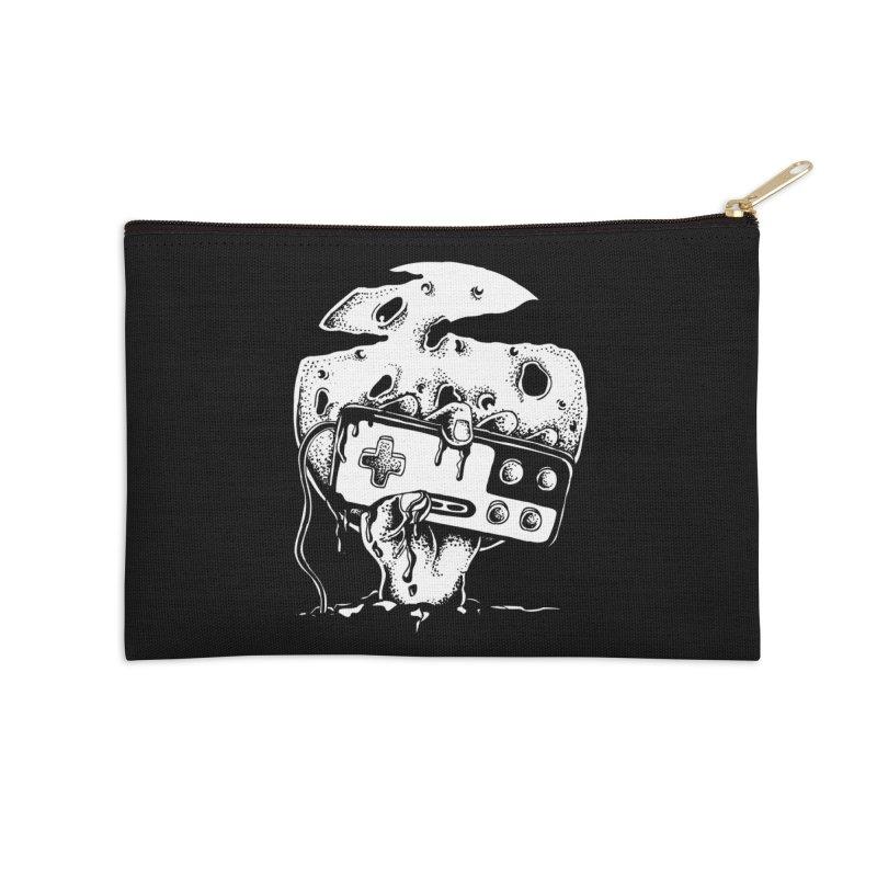 Gamer Til Death Accessories Zip Pouch by Glenkeso Designs