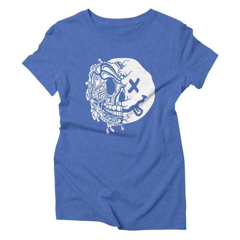 Nevermind Women's Triblend T-Shirt by Glenkeso Designs