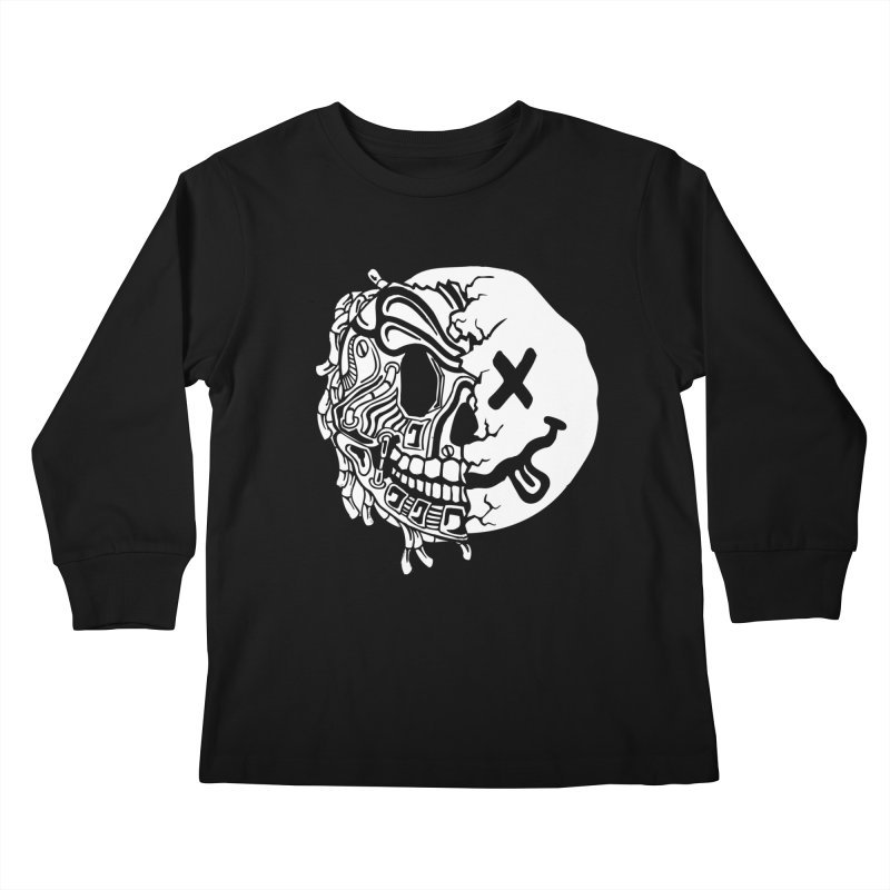 Nevermind Kids Longsleeve T-Shirt by Glenkeso Designs