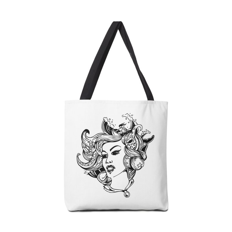 Happy Hair Day Accessories Bag by Glenkeso Designs