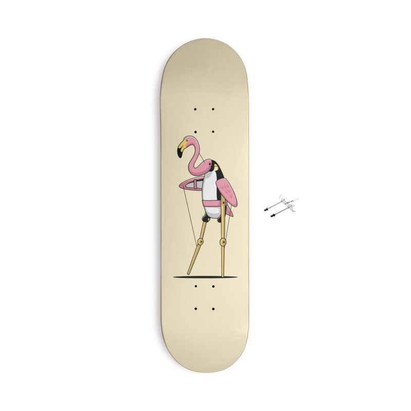 Penguin Puppetry Accessories Skateboard by Glennz