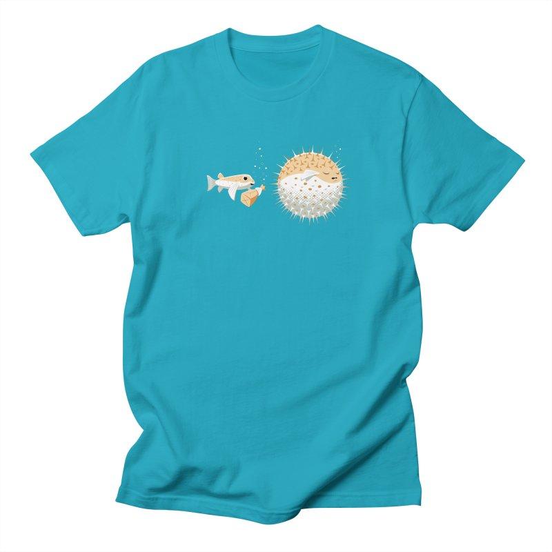 Blowfish Pranks Men's T-Shirt by Glennz