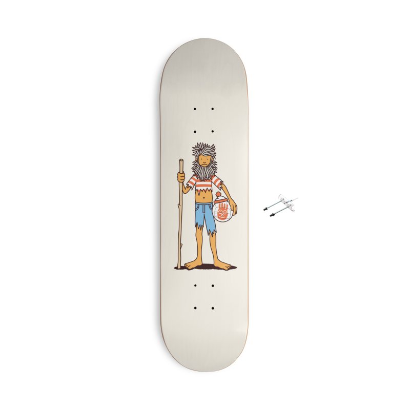 Castaway Accessories Skateboard by Glennz