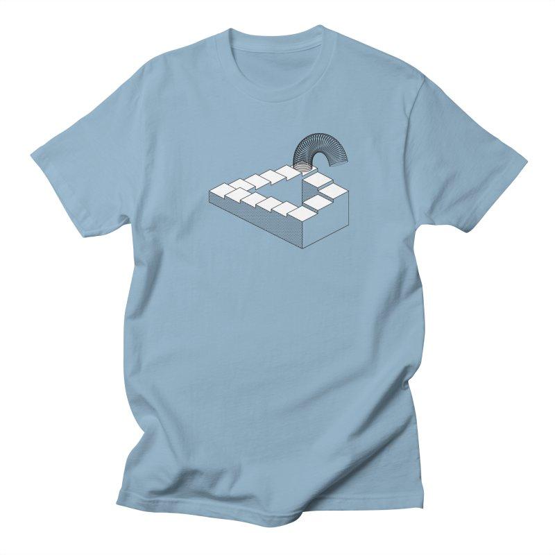 Slinky Heaven Men's T-Shirt by Glennz