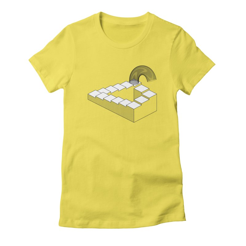 Slinky Heaven Women's T-Shirt by Glennz