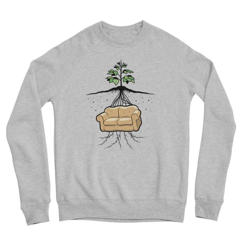 Couch Potato Men's Sweatshirt by Glennz
