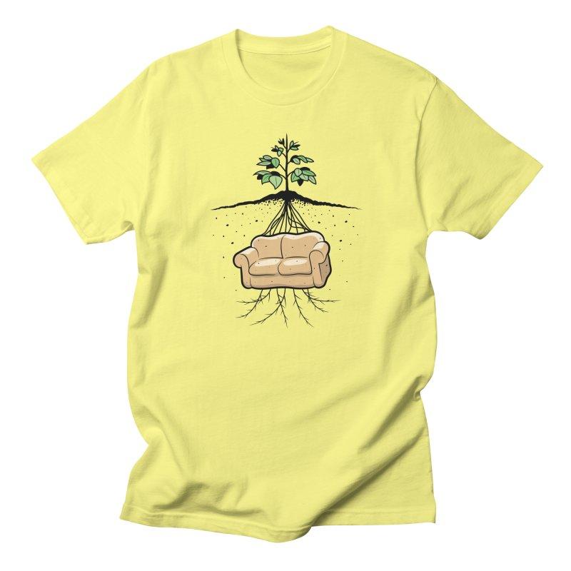 Couch Potato Men's T-Shirt by Glennz