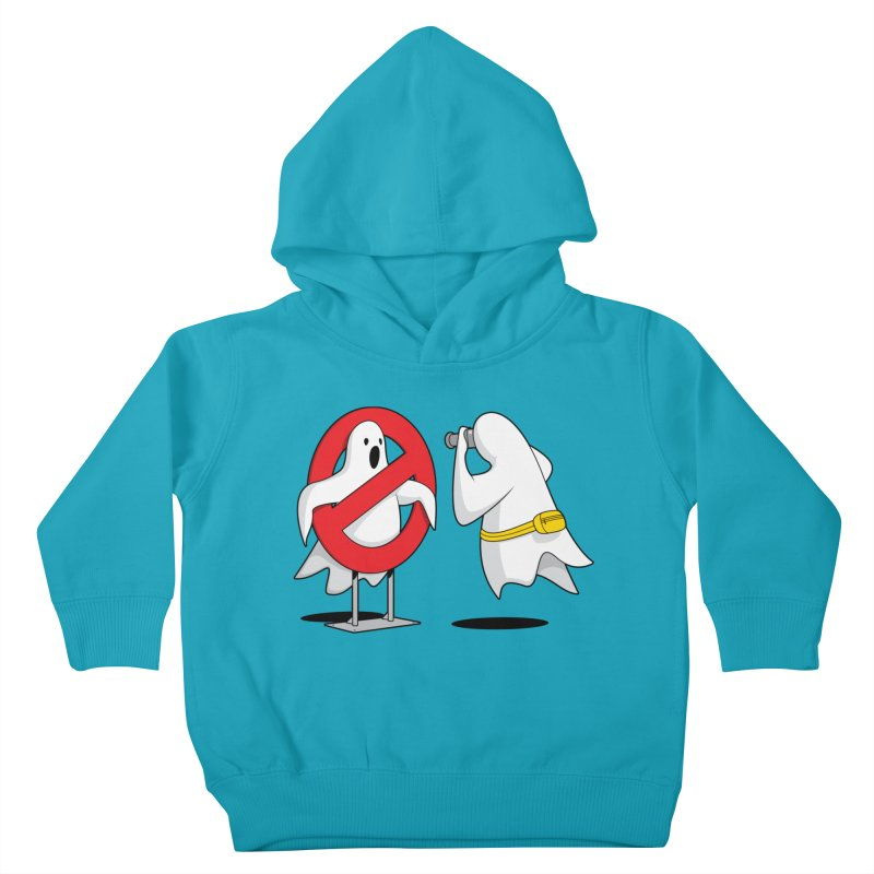 Ghost Tourists Kids Toddler Pullover Hoody by Glennz