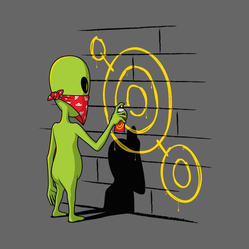 Alien Graffiti Men's T-Shirt by Glennz