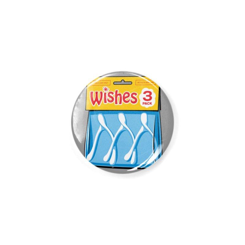 Three Wishes Accessories Button by Glennz