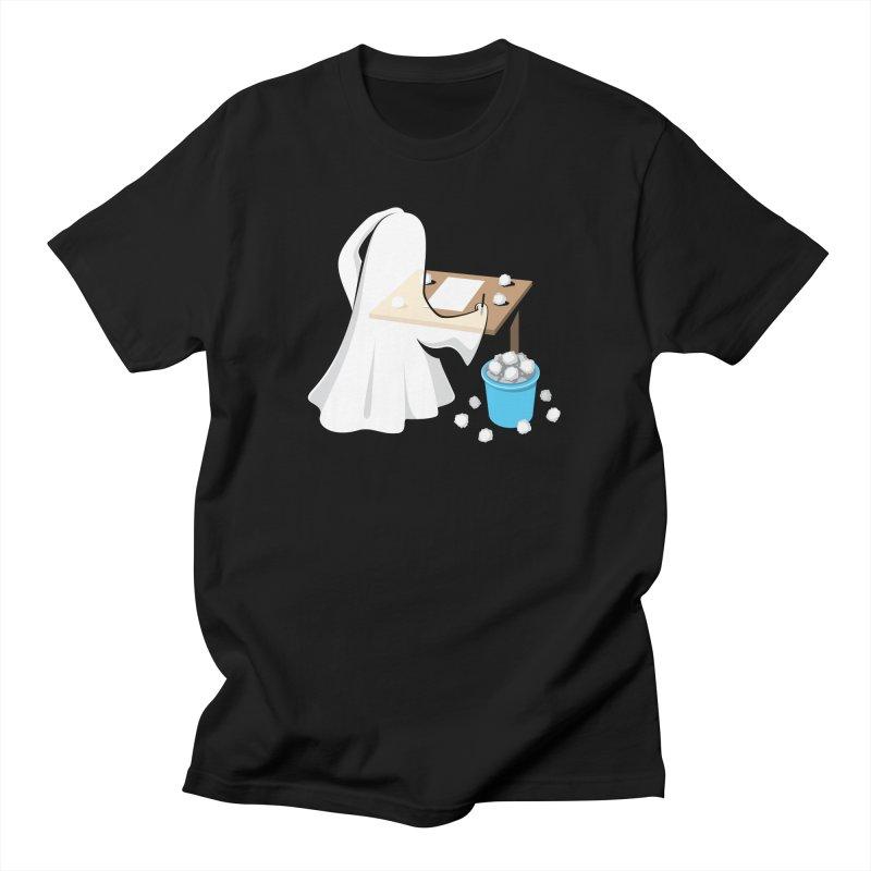 Writer's Block Men's T-Shirt by Glennz
