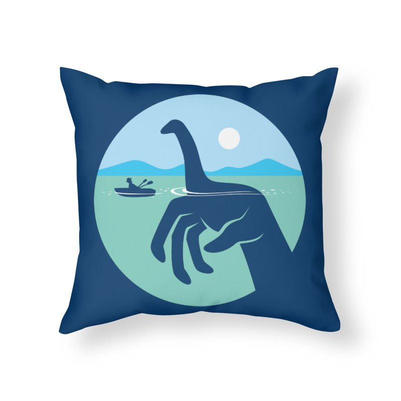 What Lies Beneath Home Throw Pillow by Glennz