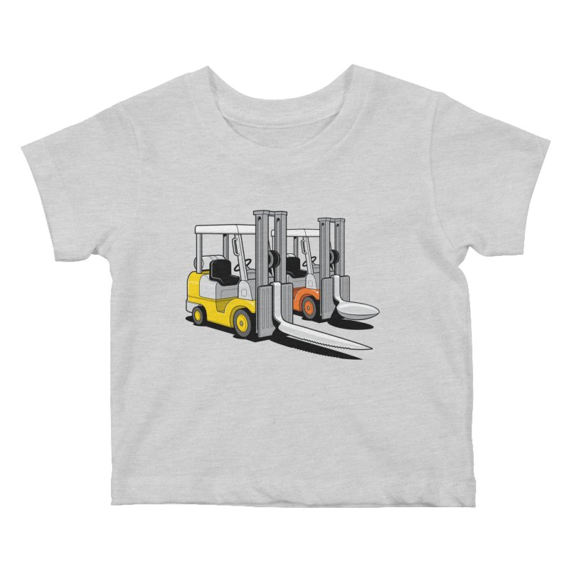 The Other Lifts Kids Baby T-Shirt by Glennz