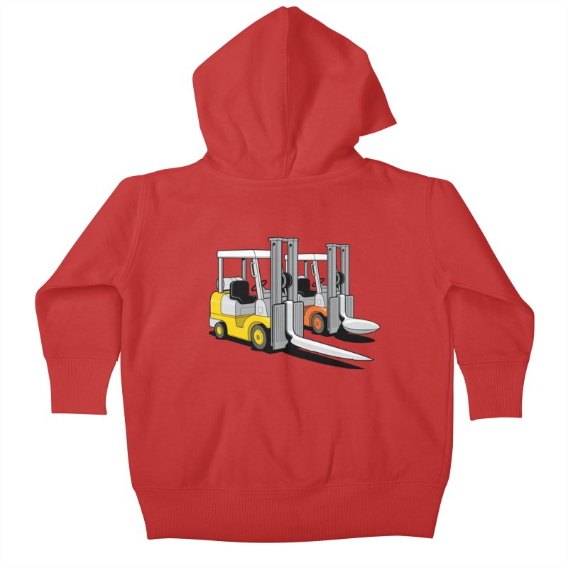 The Other Lifts Kids Baby Zip-Up Hoody by Glennz