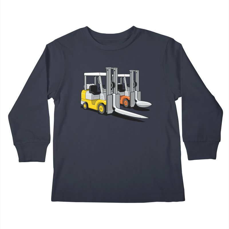 The Other Lifts Kids Longsleeve T-Shirt by Glennz