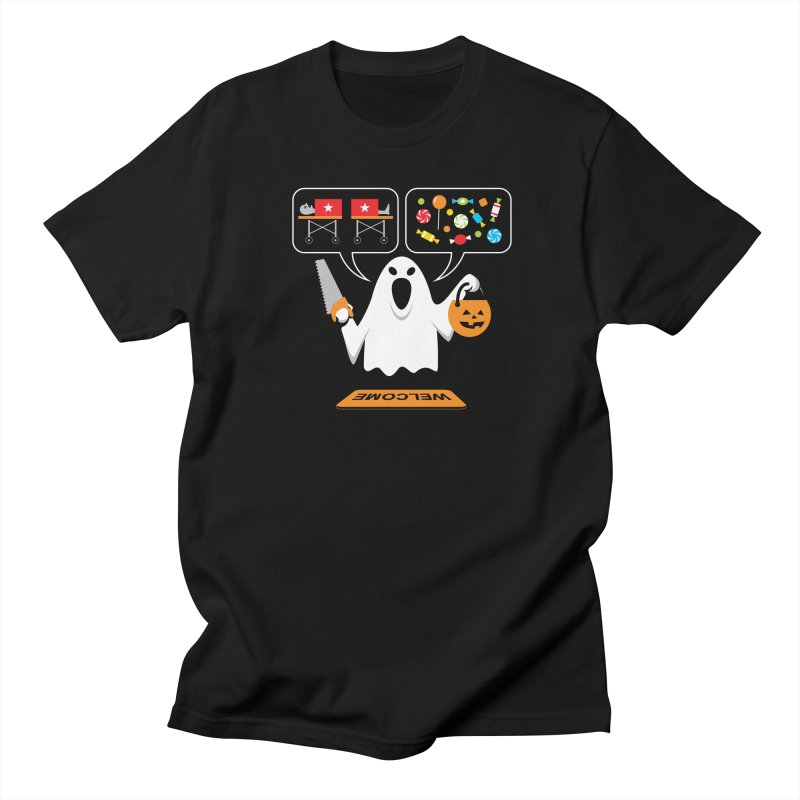Trick Or Treat Men's T-Shirt by Glennz
