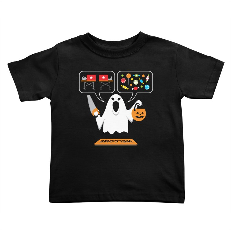 Trick Or Treat Kids Toddler T-Shirt by Glennz