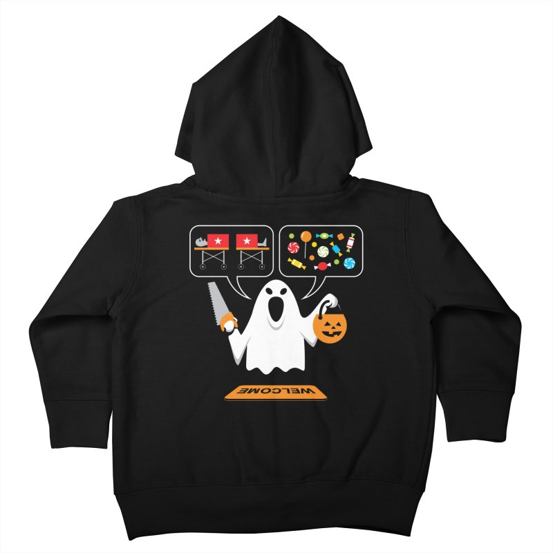 Trick Or Treat Kids Toddler Zip-Up Hoody by Glennz