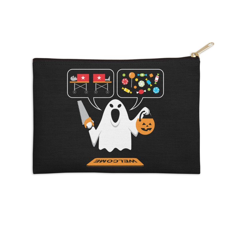 Trick Or Treat Accessories Zip Pouch by Glennz