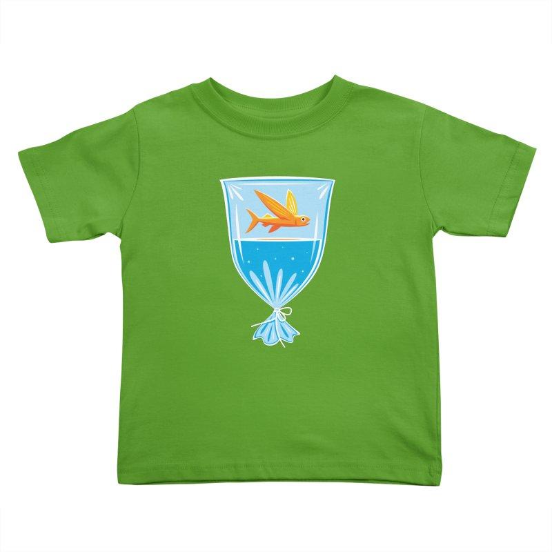New Fish Kids Toddler T-Shirt by Glennz