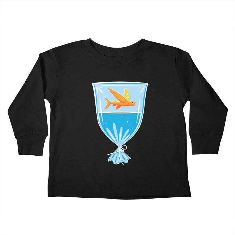 New Fish Kids Toddler Longsleeve T-Shirt by Glennz