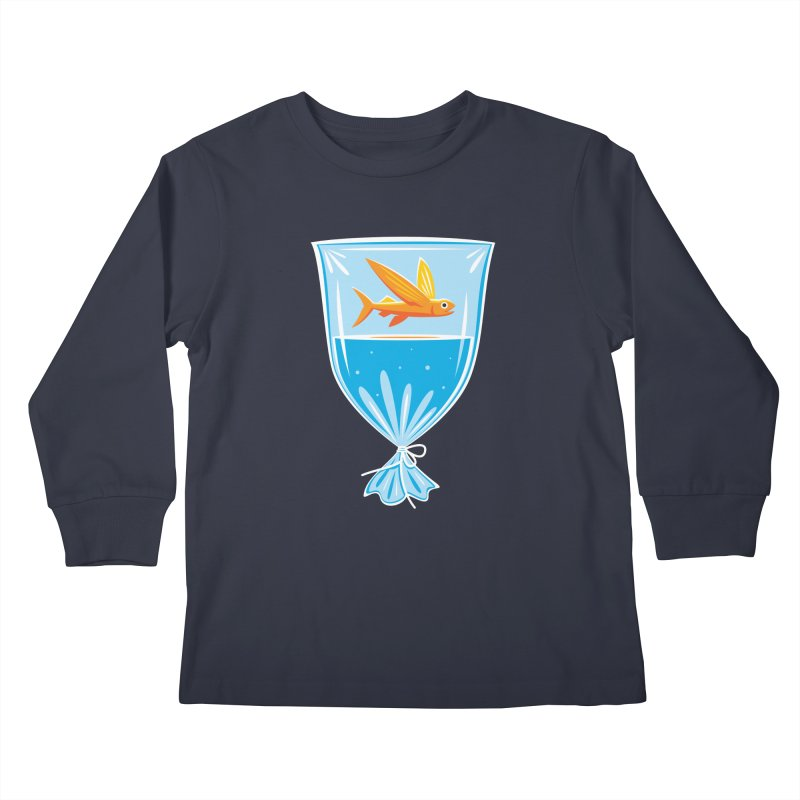 New Fish Kids Longsleeve T-Shirt by Glennz