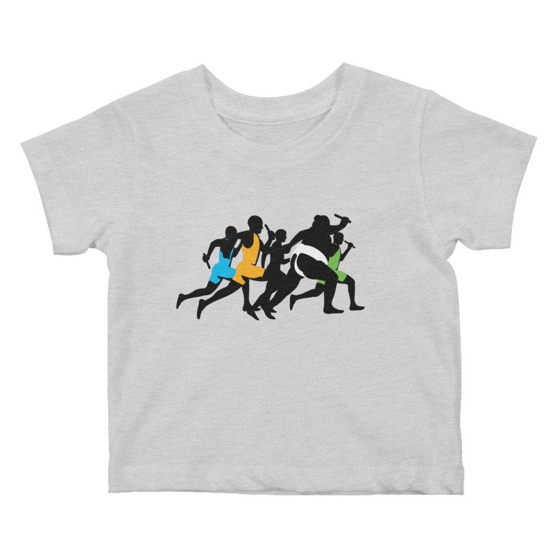 Go Japan! Kids Baby T-Shirt by Glennz