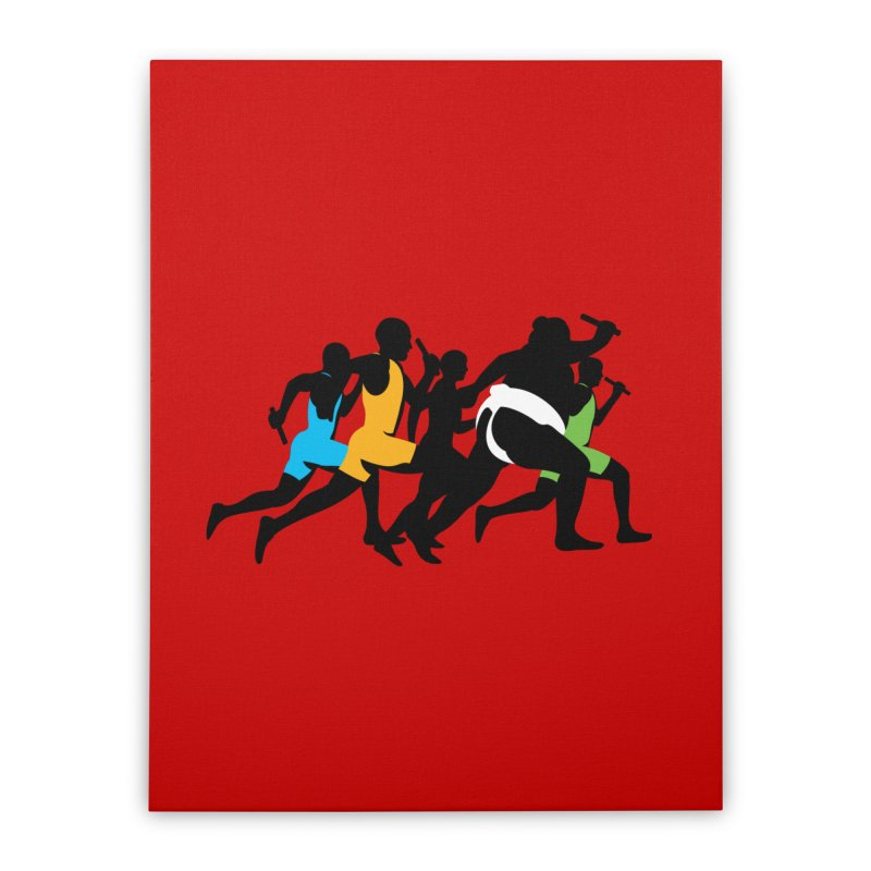 Go Japan! Home Stretched Canvas by Glennz