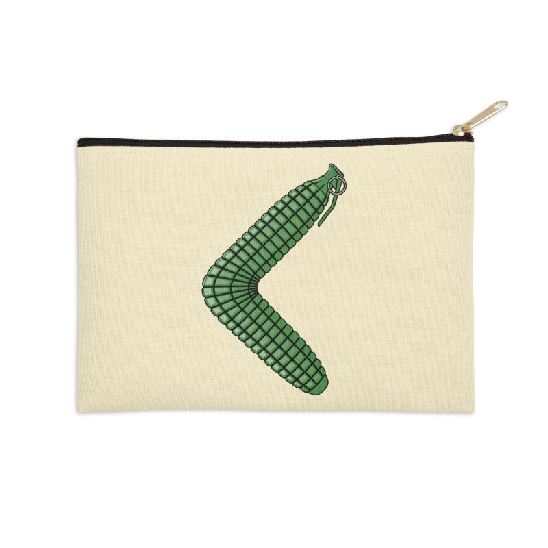 Grenaderang Accessories Zip Pouch by Glennz