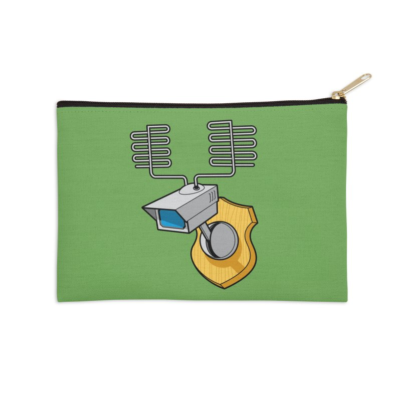 Inconspicuous Accessories Zip Pouch by Glennz